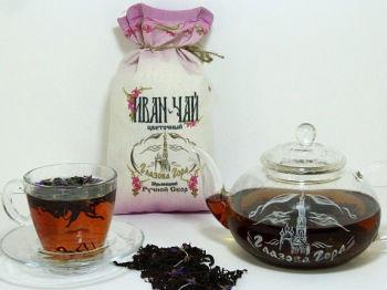 Иван-чай с Глазовой горы