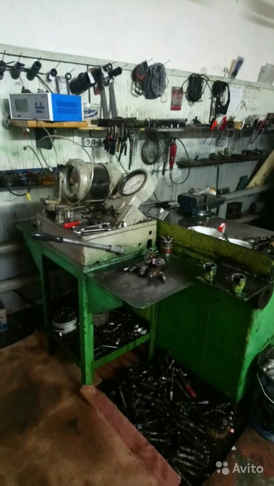Продам цех по ремонту топливной аппаратуры