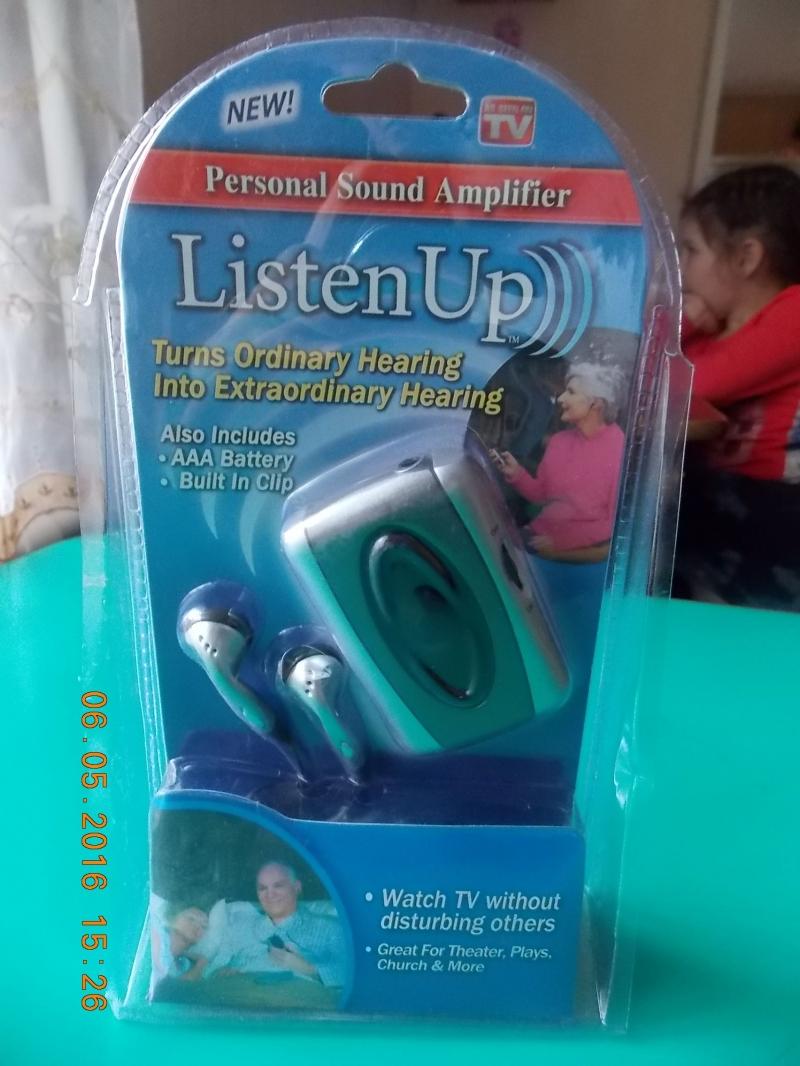Портативный бытовой усилитель звука