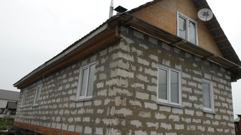 Дом 120 м2. земеленый участок 7 соток