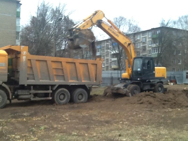 Демонтаж зданий и сооружений зем работы
