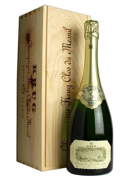 Шампанское KRUG CLOS DU MESNIL 1988