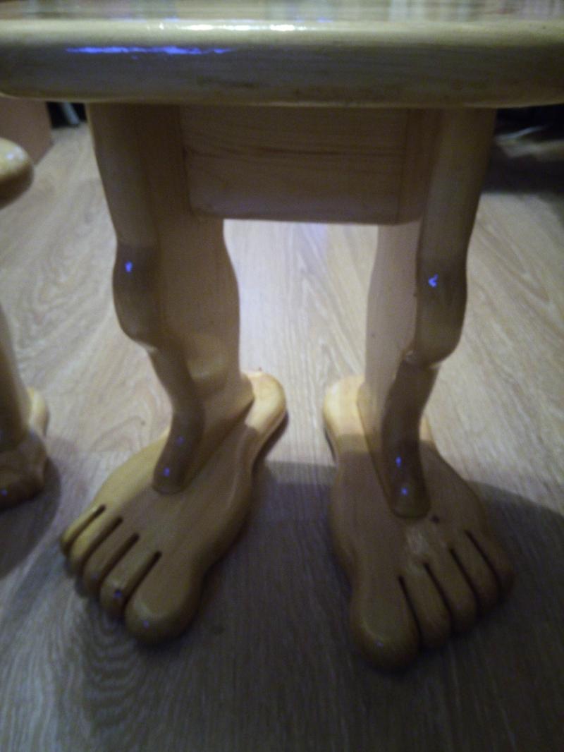 Табурет большой, деревянный