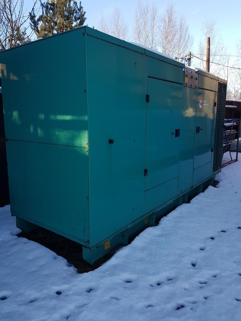 Аренда генераторов Cummins 225, 45,27 кВт
