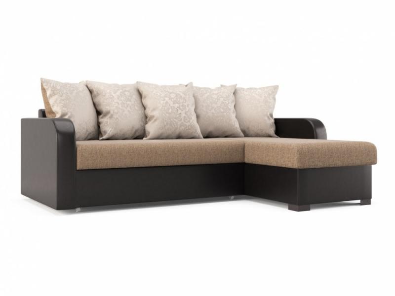 Инес диван-кровать угловой УП(Л) Елена 4308/Версаль 700