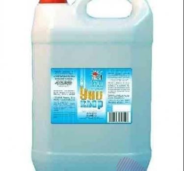 Чистящее, дезинфицирующие, отбеливающие, моющее, антимикробное средство Унихлор