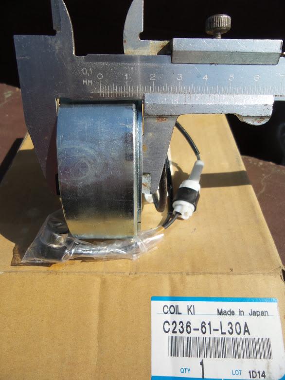 MAZDA Катушка электромуфты компрессора C236-61-L30A