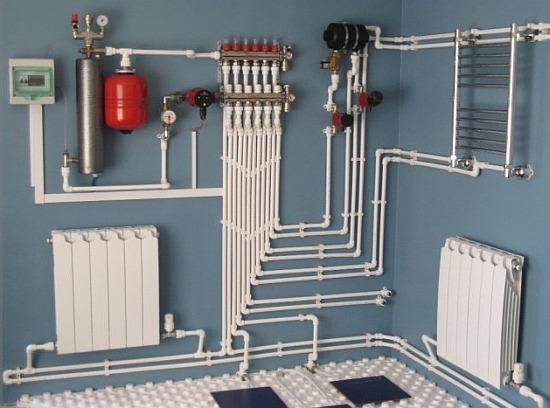 Отопление, Монтаж радиаторов, Теплые полы