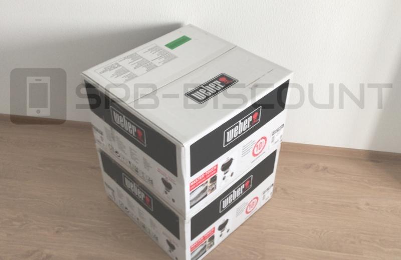 Гриль Weber Master Touch GBS SS 57 cm Black