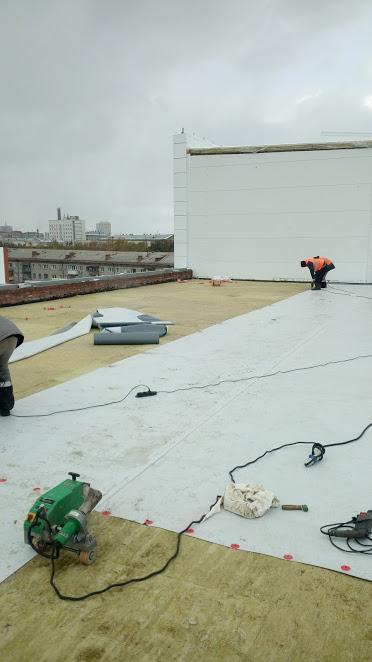 Мембрана тпо пвх эпдм кровля крыша монтаж ремонт комплектация