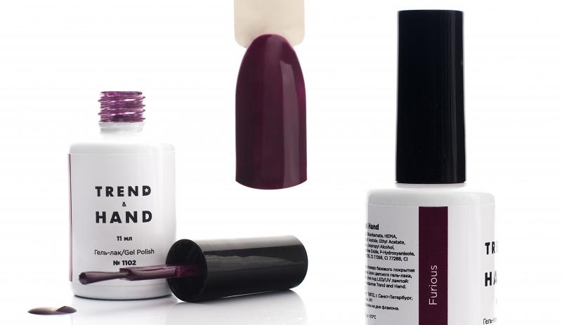 Умные гель-лаки Trend&Hand и профессиональные материалы для ногтевого сервиса