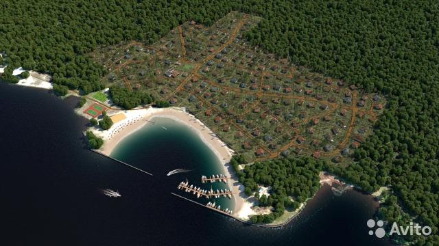 Продажа земельных участков на Горьковском море