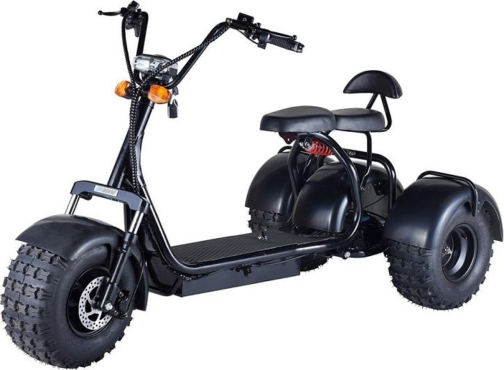 Электроскутер трицикл CityCoco Threecoco 1200W 20aH