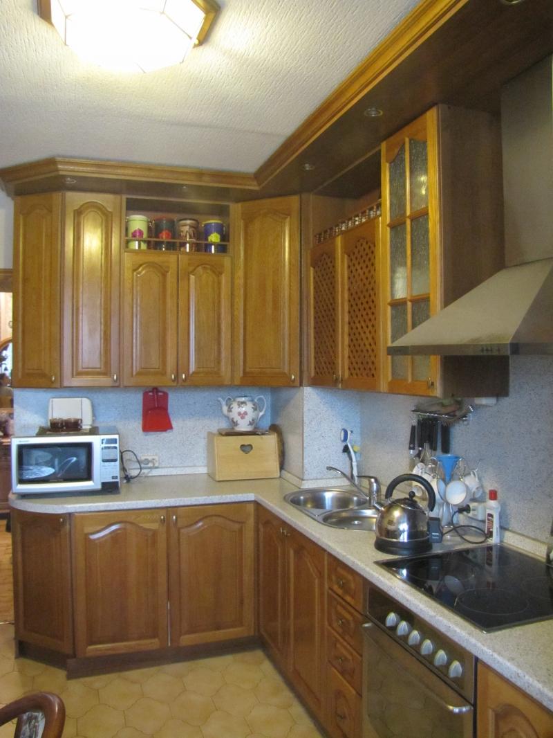 Кухонный гарнитур,массив дуба с техникой.
