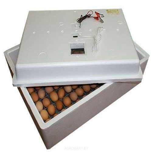 Инкубатор на 63 яйца с механическим поворотом