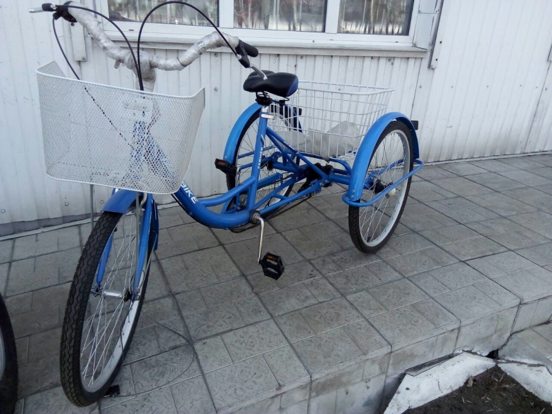 """Велосипед для взрослых """"Иж  Байк-фермер"""" 3-х колесный"""