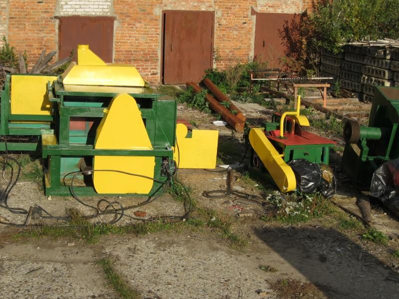 Оборудование для переработки тонкомера