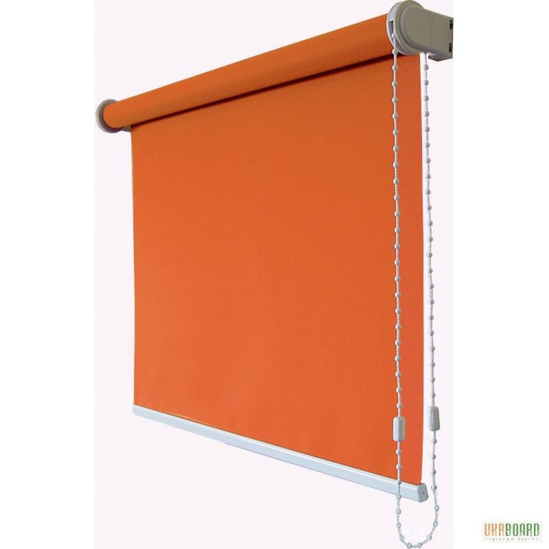 Простая рулонная штора