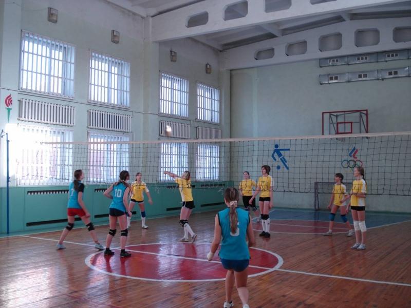 Волейбол для девочек 2006-2007гр.