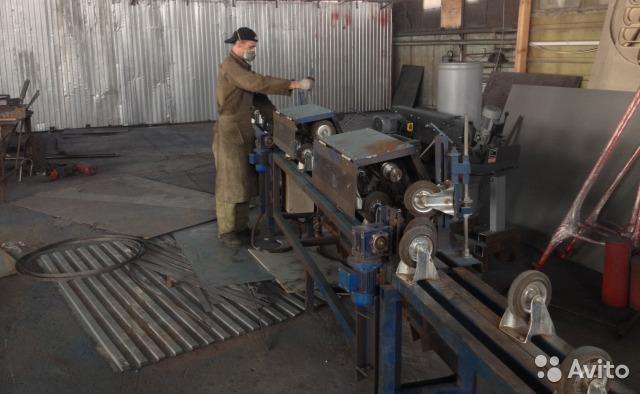 Cтанок шлифовальный сз 108 для чистки труб