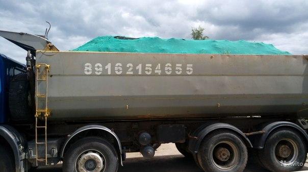 Доставка и грузоперевозки щебень, растительный грунт, песок, торф и др. сыпучие