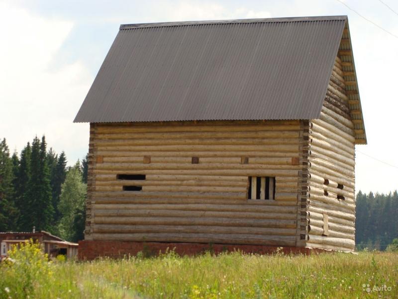 недостроенный Дом 110 м2 (дача)