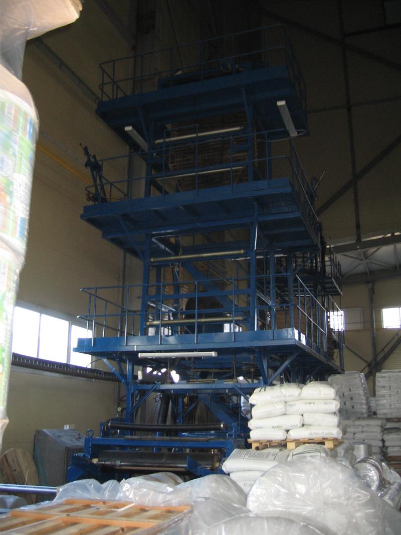 Экструдер для производства (выдува) полиэтиленовой пленки