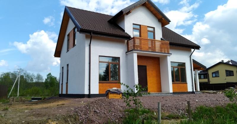 Дом 150 м2 для постоянного проживания в пригороде Спб