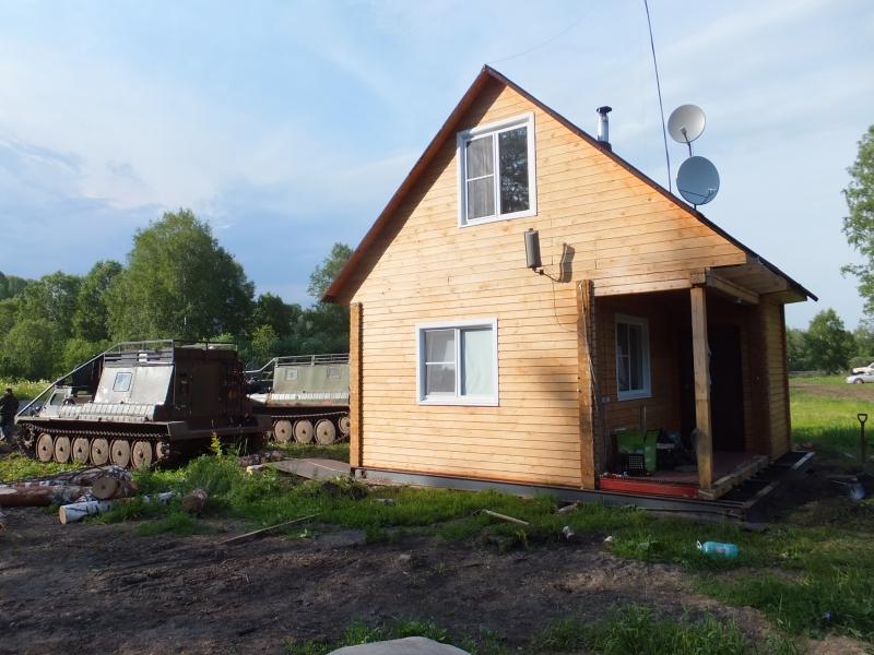 Перенос домов, строений