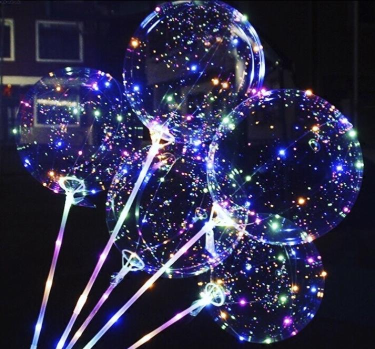 Продавец воздушных LED светящихся шаров