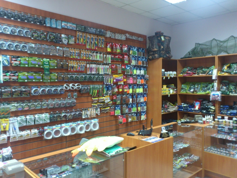 Магазин для рыбалки продажа