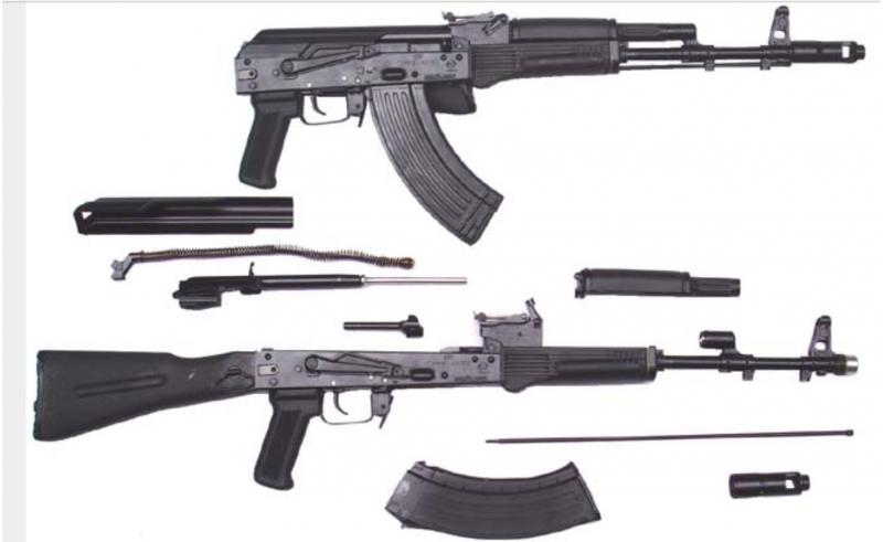 МАКЕТ ММГ АК-103 со складным прикладом