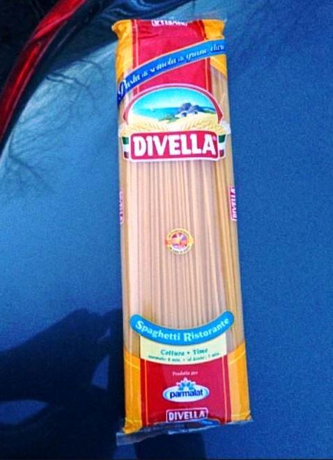 Натуральные итальянские спагетти