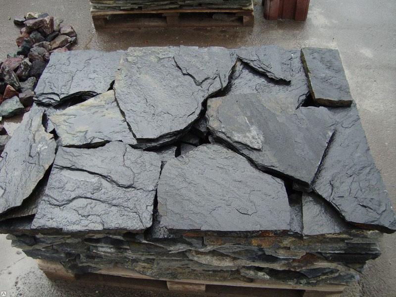 Природный натуральный камень плитняк.