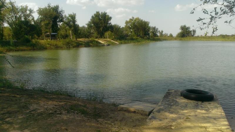 Водоём для отдыха и рыбалки