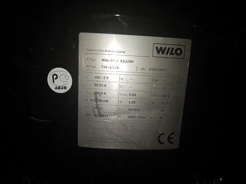 Погружные дренажные насосы Wilo