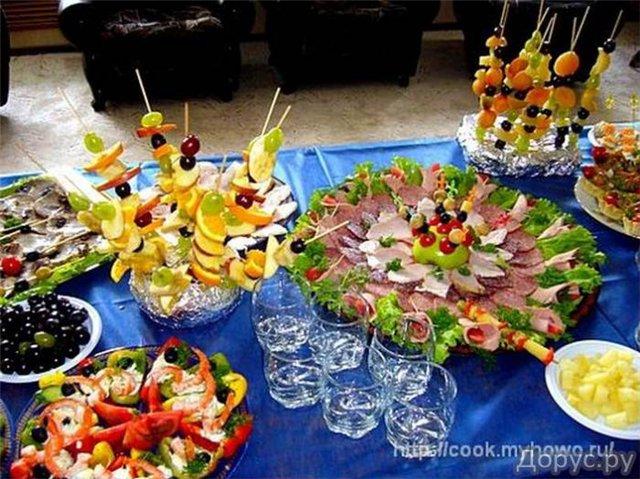 Праздничный обед на день рождения рецепты