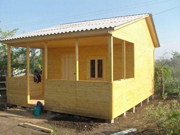 Дачный домик своими руками каркасный