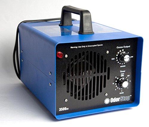Удаление любого запаха генератором озона.