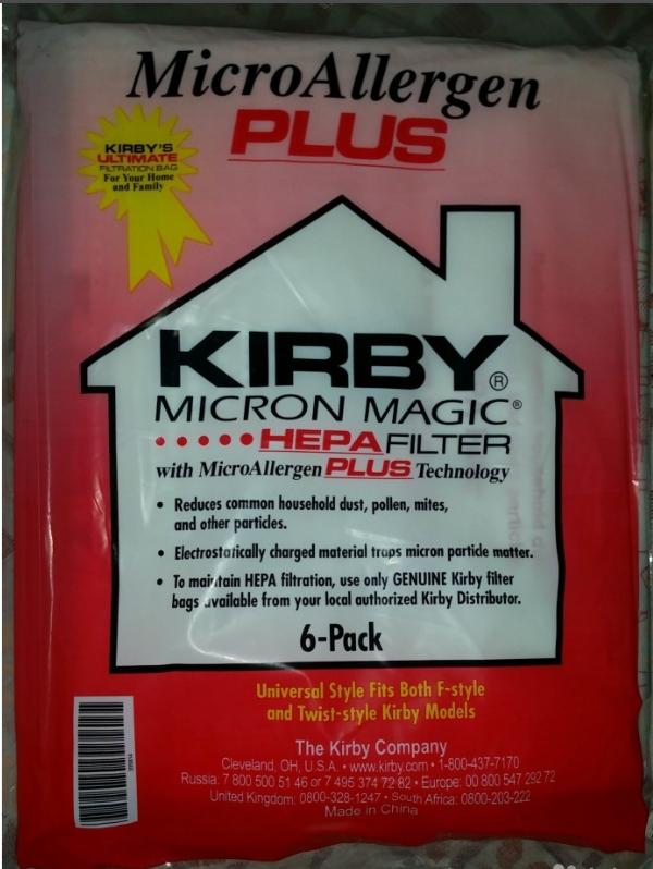 Мешки Кирби usa Micron Magic hf(оригинал.)