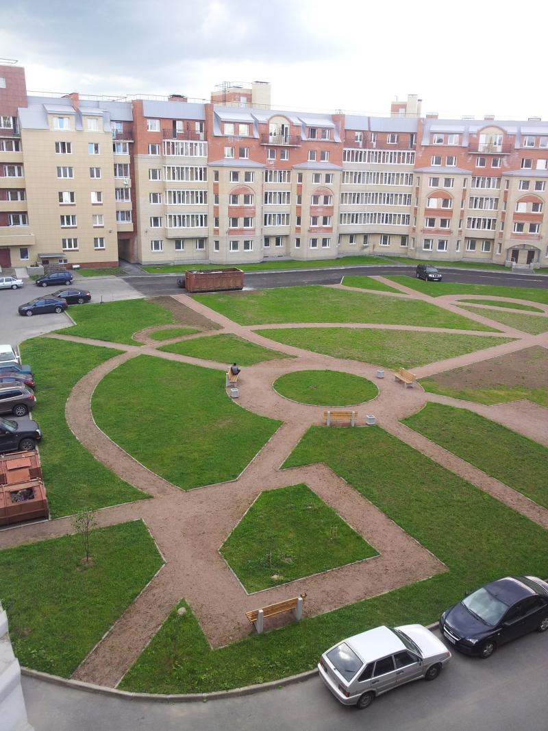 отличная квартира в  Пушкине рядом  с  парками  и  дворцами