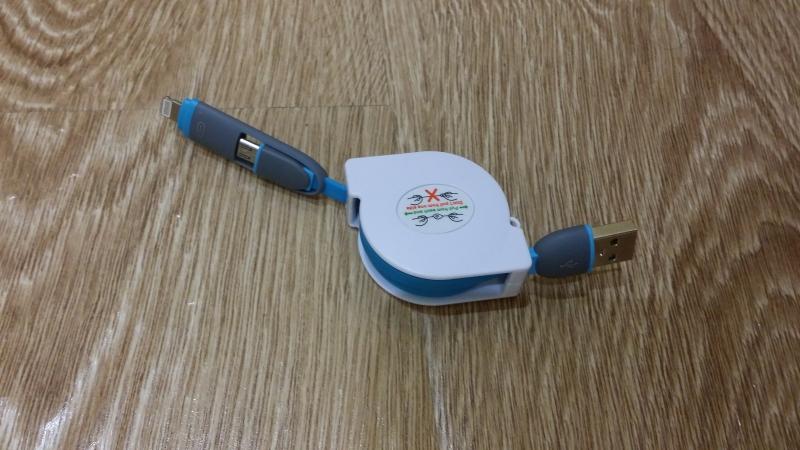 Зарядный кабель 2 в 1