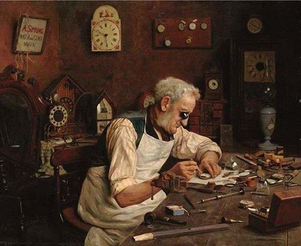 Ремонт и реставрация антикварных часов