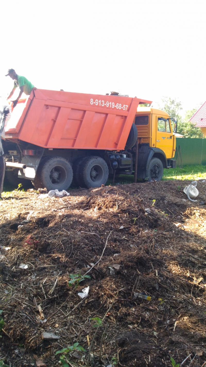 Вывоз мусора, доставка песка,  щебня ПГС