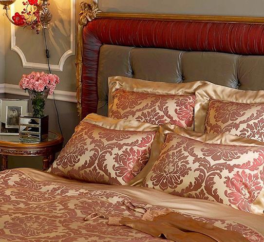 Комплект постельного белья Империя (бордо) togas