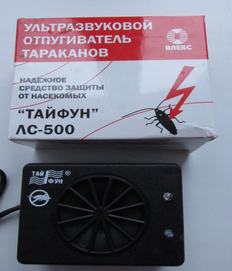 Тайфун ЛС 500 ультразвуковой отпугиватель тараканов, муравьёв и насекомых