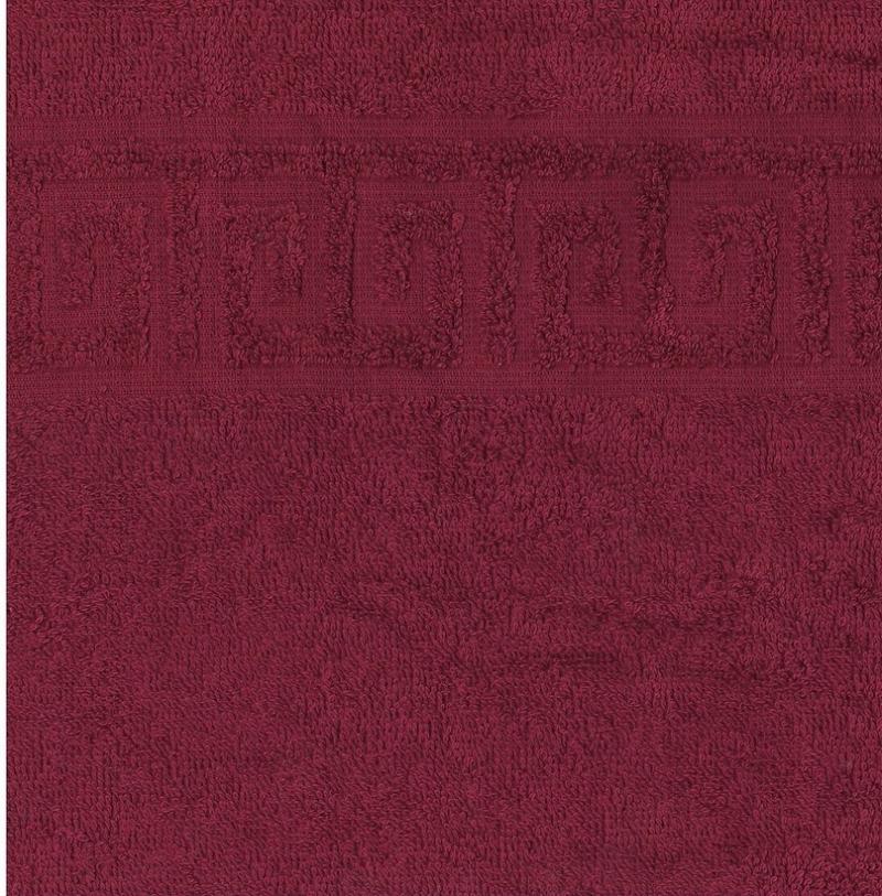 Полотенца махровые 70*140 темно лиловые