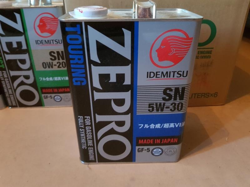 Масло моторное Idemitsu 5W-30 ZEPRO TOURING 4л.