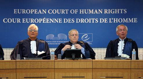 Жалобы в Европейский суд по правам человека