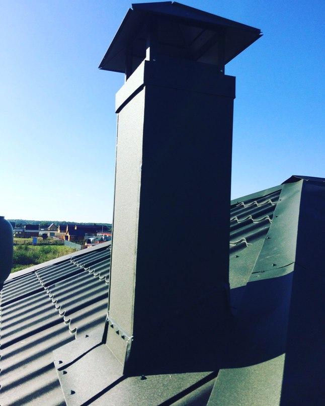 Монтаж вентиляции и дымоходов